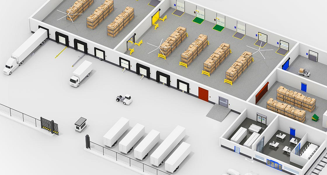 Entrematic Interactive Warehouse