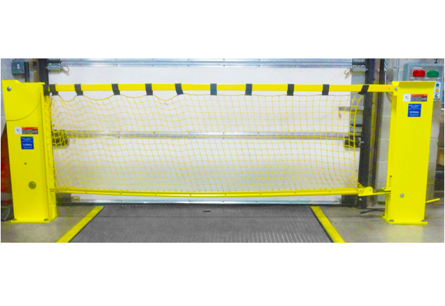 Dock Impact Barrier with net