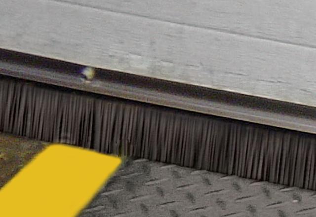 Door Brush Guard Amp Mortised